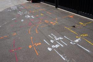 GEOSCOPE UTILITY MARKING STREET ART UNDERGROUND SERVICES LOCATING LOCATION