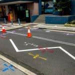 GEOSCOPE UTILITY MARKING STREET ART UNDERGROUND SERVICES LOCATIN