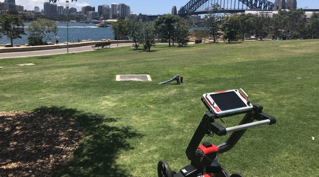 Ground Penetrating Radar GPR Service Locating Sydney Geoscope